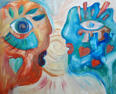 A shiny Love by Yael Zahavy-Mittelman