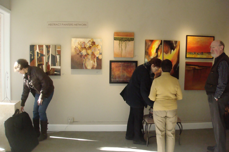 Abstract Painters Network artshow Feb 2012