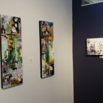 Stories in colors, Solo Art Show at The EAFF gallery at the Frances Anderson Center in Edmonds, WA. Artist, Yael Zahavy-Mittelman