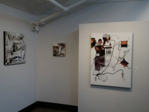 Solo Art Show at The EAFF gallery at the Frances Anderson Center in Edmonds, WA. Artist, Yael Zahavy-Mittelman