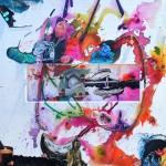 "Tutti, Mix Media, 36""x36"", By the artist Yael Zahavy-Mittelman"